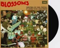 BLOSSOMS Christmas Eve (Soul Purpose) Vinyl Record 7 Inch EMI 2020